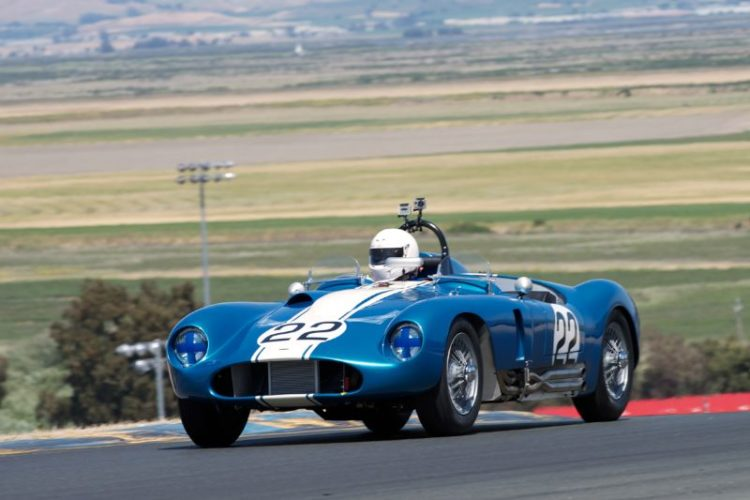 1958 Jaguar Special driven by Robert Bodin.