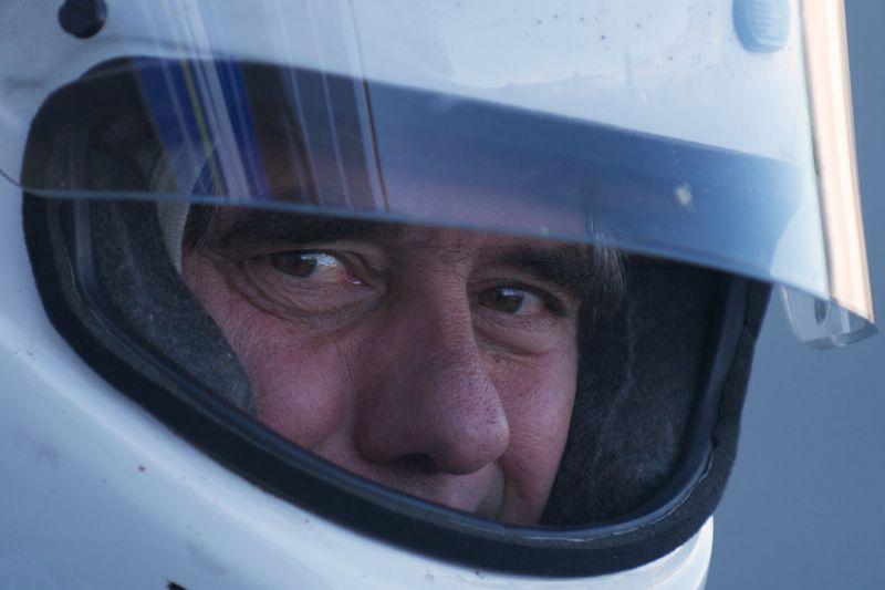 Jeffrey O'Neil drives a Maserati 250F.