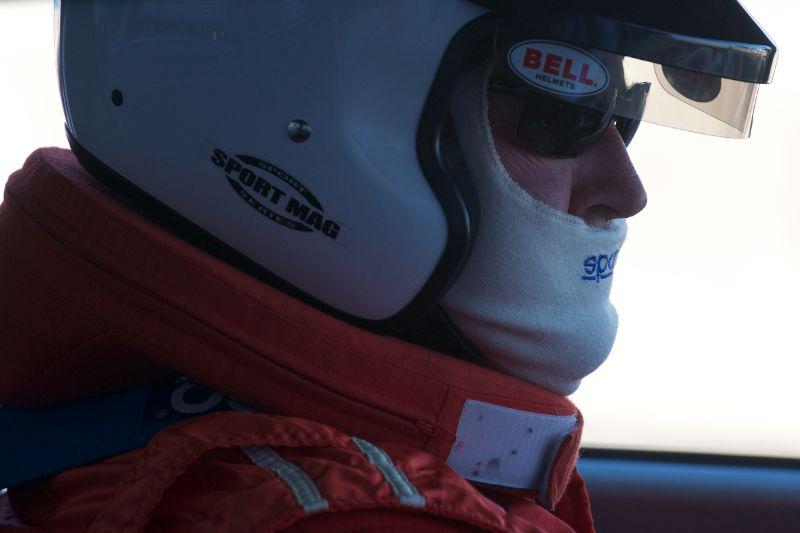 Tom Price in his Ferrari 250GTO.