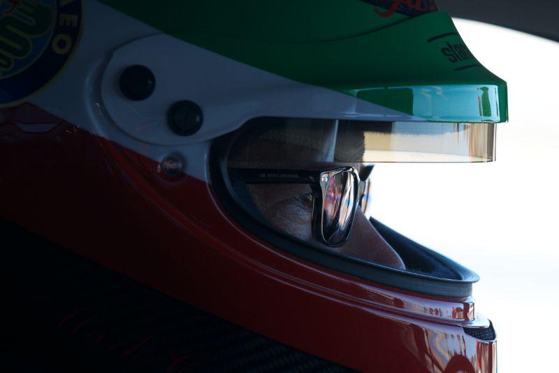 Mark Colbert drove a Ferrari 250 GT Lusso Competizione.