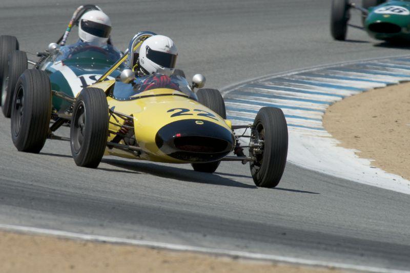 Robert Stoker in his Lotus 22.