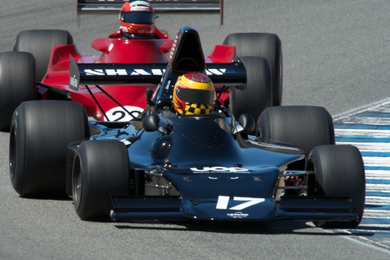 Keith Frieser in his Shadow DN1.