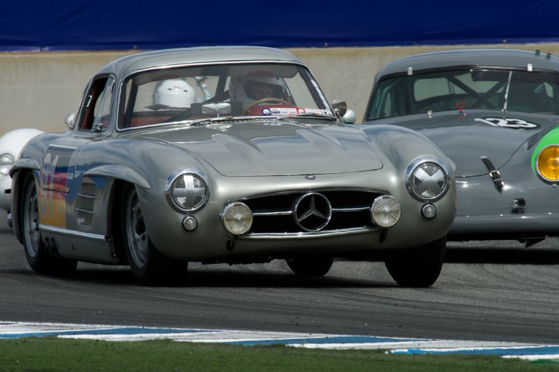 300SL Gullwing Mercedes Benz driven by Alex Curtis.