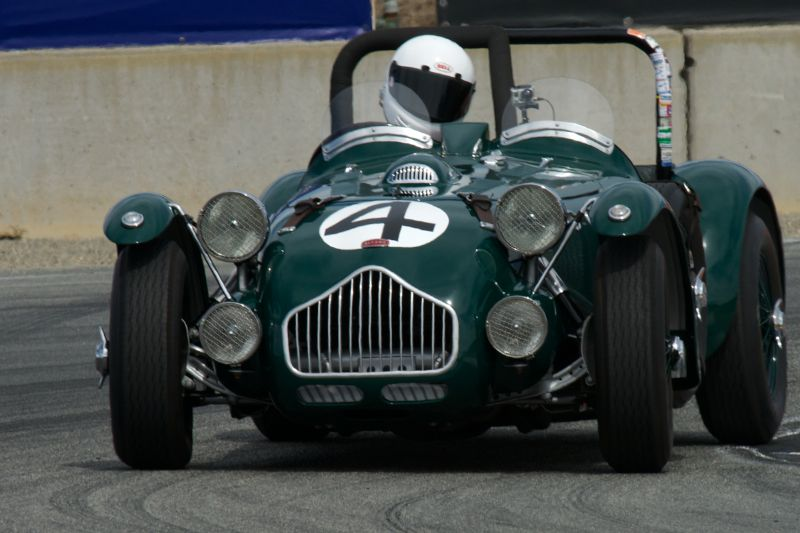 Allard J-2 LeMans driven by Graham Smith in turn eleven Sunday.