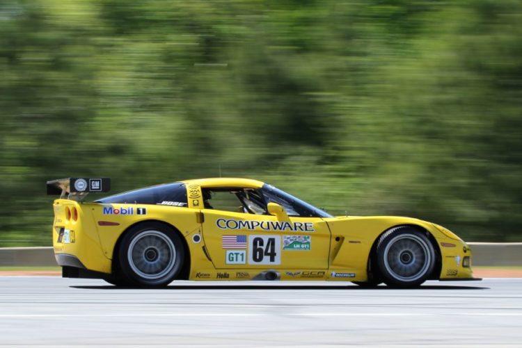 Robert Blain, 04 Corvette C6R