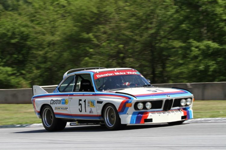 Scott Hughes, 73 BMW CSL 3500