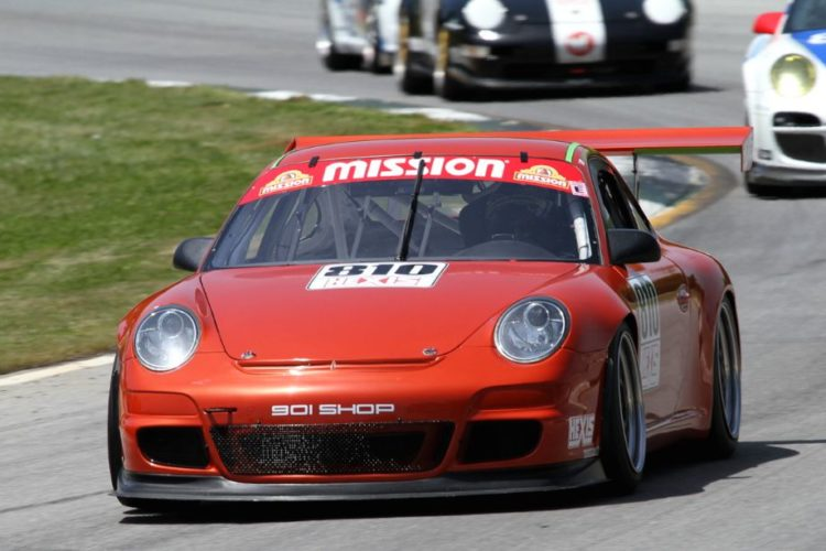Juan Lopez-Santini showed his considerable talents in the 08 Porsche 977 GT3 Cup