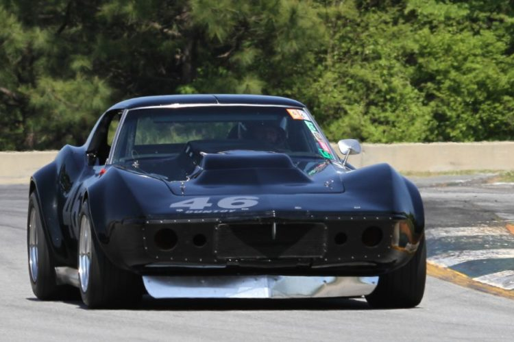 Jody O'Donnell and his 69 Corvette had a very successful weekend.
