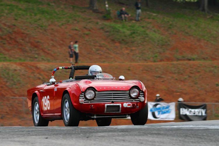 Richard Taylor, 64 Triumph TR4