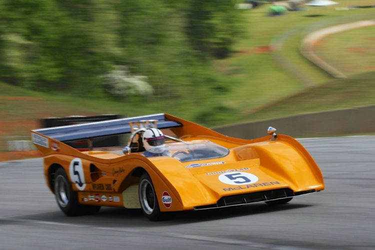 Chris Macallister, 71 McLaren M8F