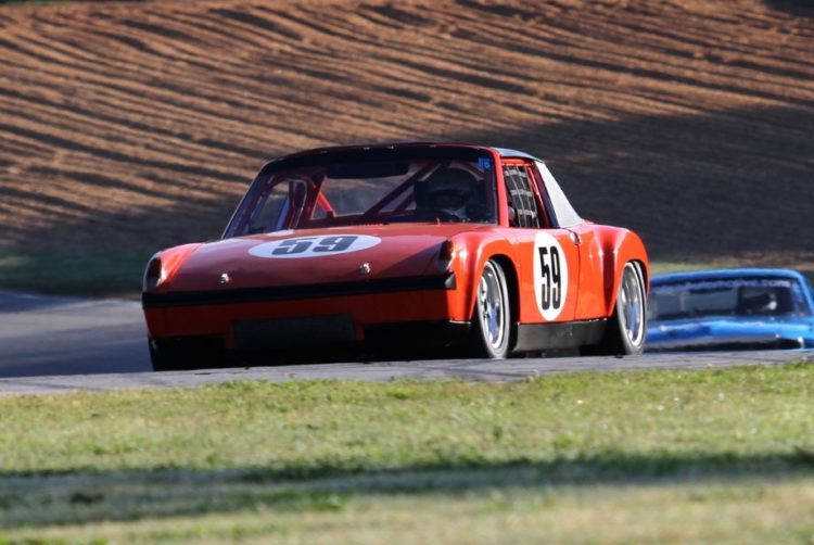 Frank Beck, 72 Porsche 914/6