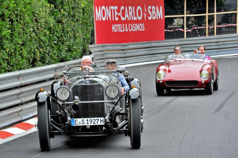 2014 Monaco Historic Grand Prix Atmosphere