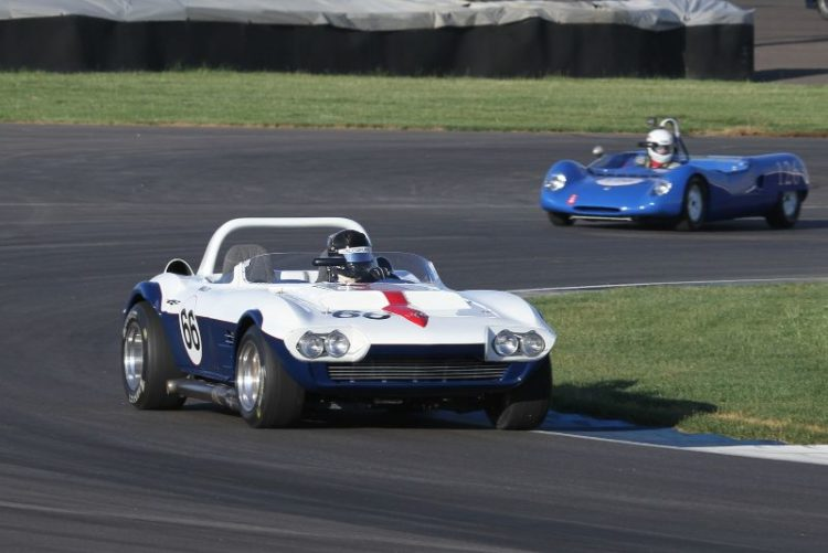 Walo Bertschinger, 66 Corvette Grand Sport