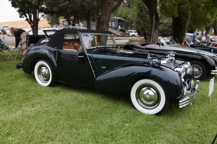 Tom Leonard's 1947 Triumph 1800 Roadster.