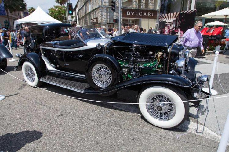 1932 Auburn V12 Boattail Speedster