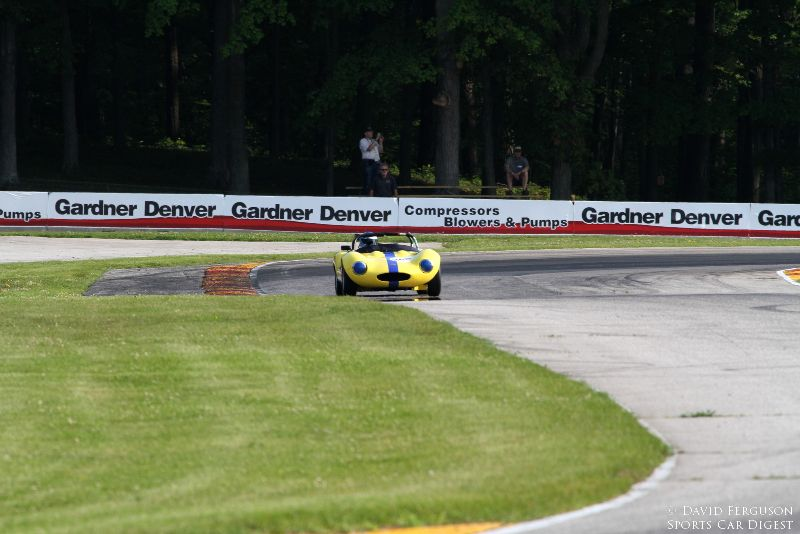 Ginetta coming out of turn 6.