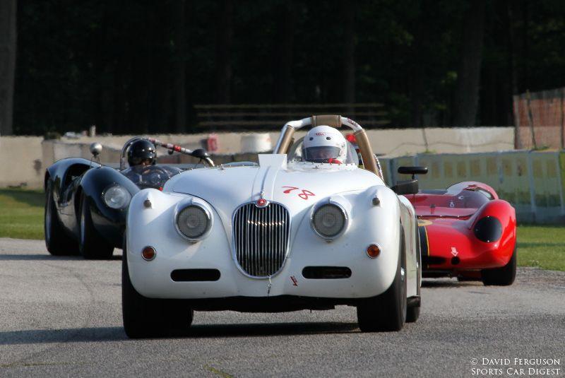 Max Heilman, 58 Jaguar XK150