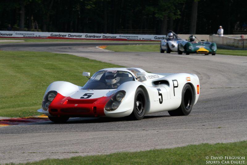 Michael Malone, 68 Porsche 908