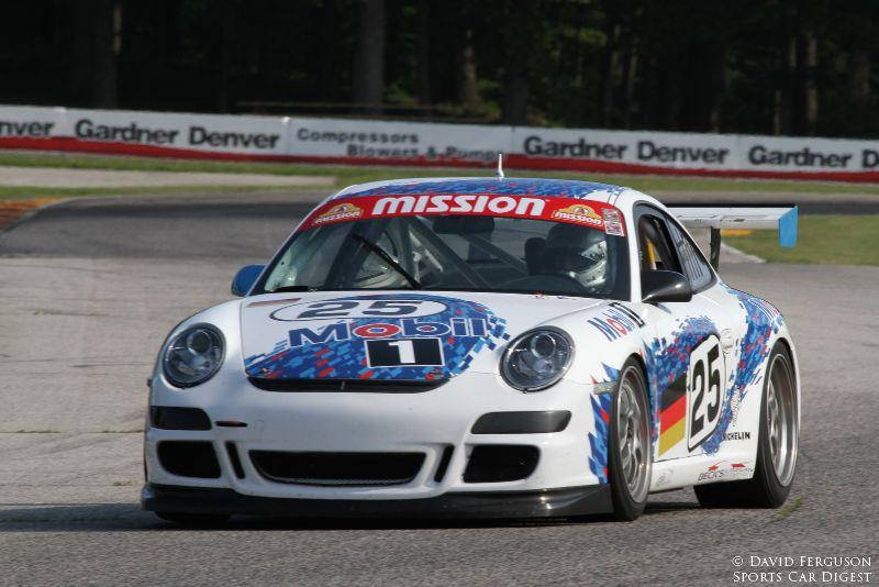 Frank Beck, 07 Porsche 997 Cup