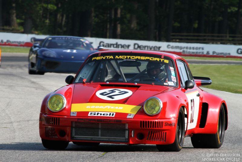 Steve Sanett, 74 Porsche 911 RSR