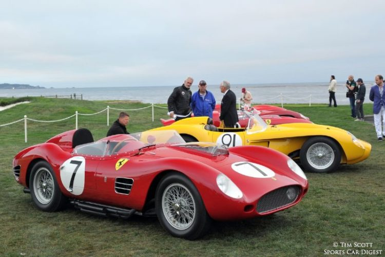 1959 Ferrari 250 TR59 Fantuzzi Spider 0766TR finished first at the 1959 Sebring 12 Hours driven by Phil Hill, Olivier Gendebien, Dan Gurney and Chuck Daigh