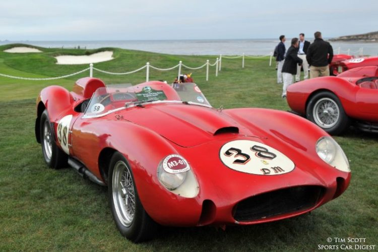 1957 Ferrari 250 Testa Rossa Scaglietti Spider 0704TR, the only TR to remain unrestored with its original engine, gearbox and bodywork