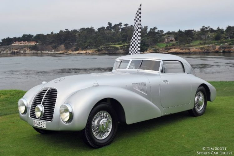1938 Mercedes-Benz 540K Streamliner