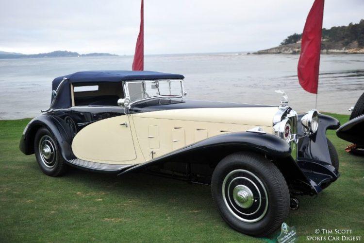 1931 Delage D8 SS 100 Fernandez et Darrin Cabriolet