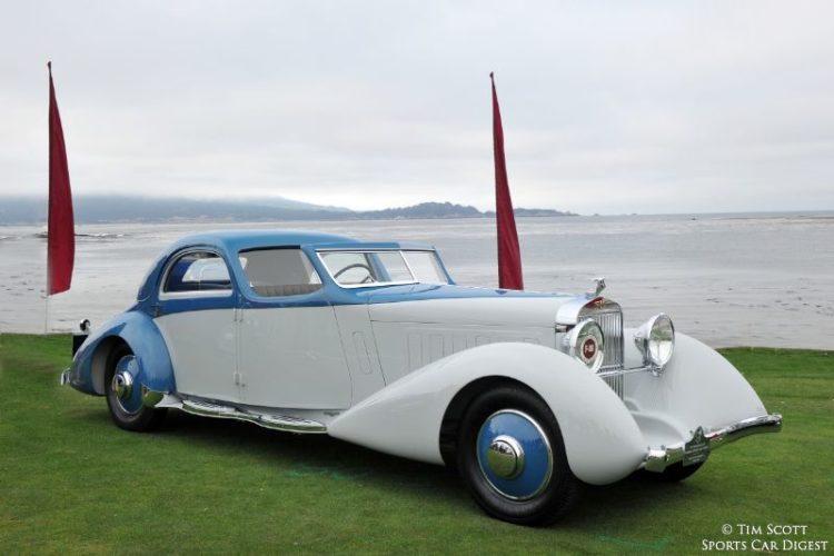 1934 Hispano-Suiza K6 Fernandez et Darrin Coupe Chauffeur