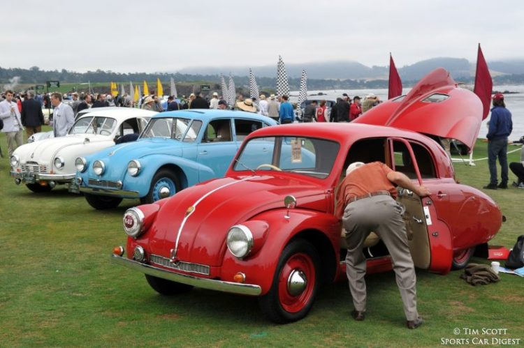 Tatra Class at Pebble Beach Concours d'Elegance 2014