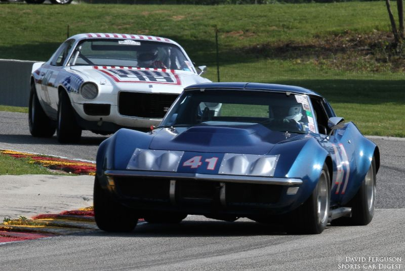 Damon Bosell, 71 Corvette