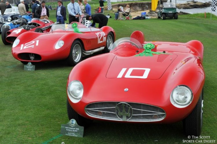 1955 Maserati 300S Fantuzzi Spider