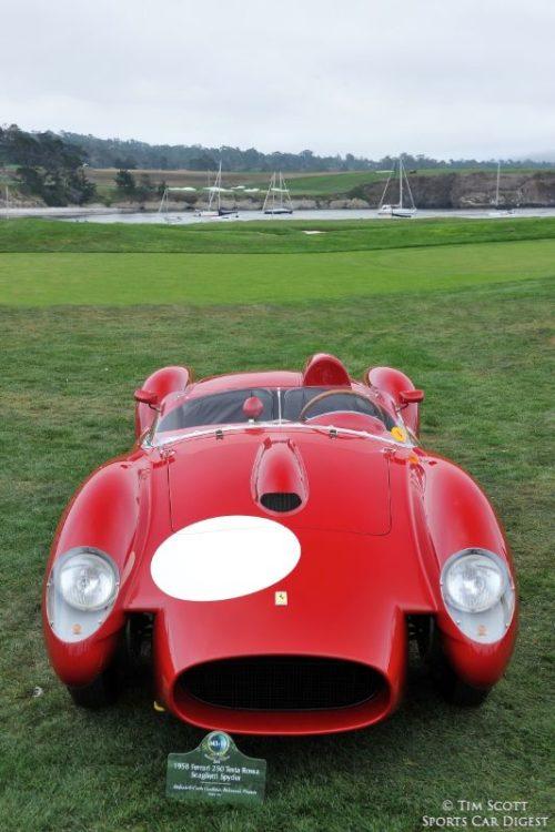 1958 Ferrari 250 Testa Rossa Scaglietti Spider 0742TR