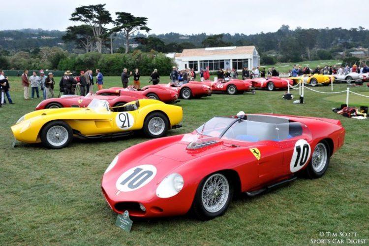 1961 Ferrari 250 TRI61 Fantuzzi Spider 0794TR and 1958 Ferrari 250 Testa Rossa Scaglietti Spider 0736TR