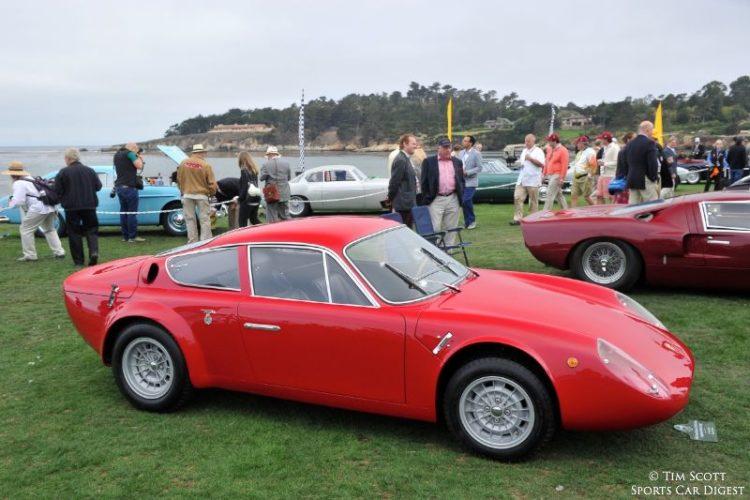 1965 Abarth-Simca 2 Mila Corsa Longnose Abarth Coupe