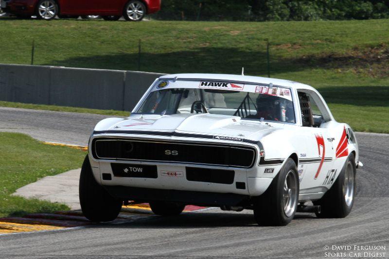 Shannon Ivey, 67 Chevrolet Camaro SS