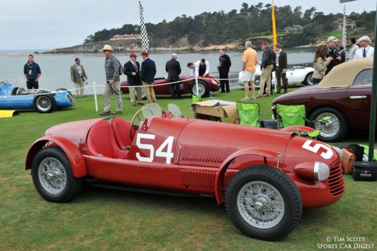 1948 Ferrari 166 Corsa Spider