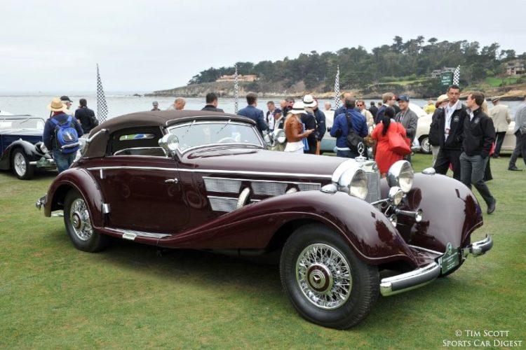 1937 Mercedes-Benz 540K Cabriolet A