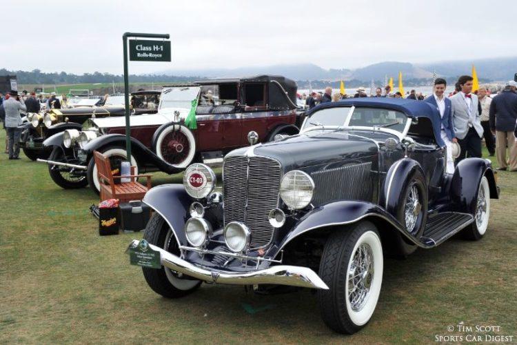 1933 Auburn 12-165 Salon Speedster