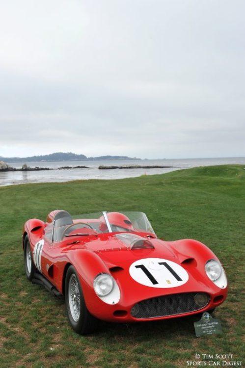 1959 Ferrari 250 TR59/60 Fantuzzi Spider 0774TR