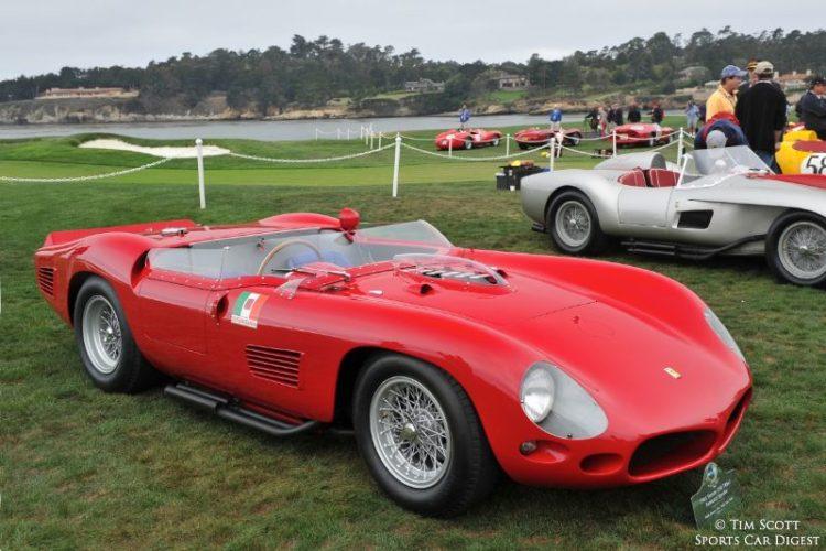 1961 Ferrari 250 TRI61 Fantuzzi Spider 0792TR, twice an overall winner at Sebring