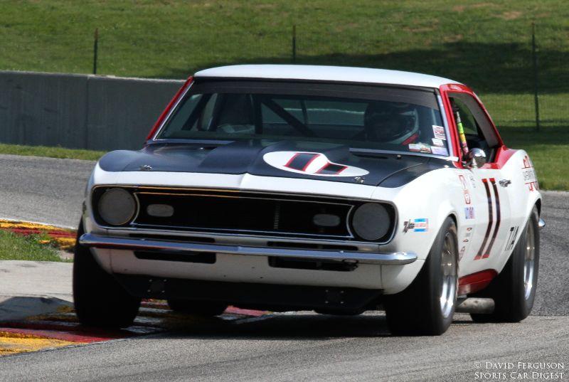 Norman Daniels, 68 Chevrolet Camaro Z/28