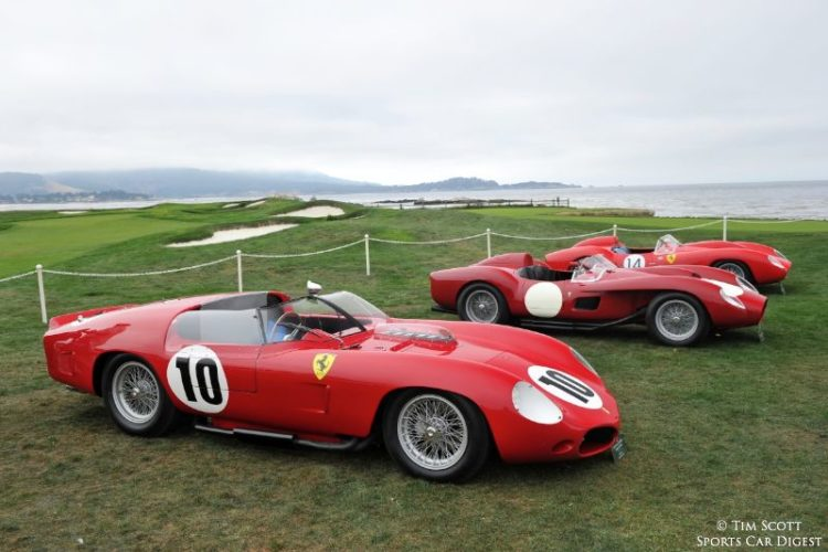 1961 Ferrari 250 TRI61 Fantuzzi Spider 0794TR