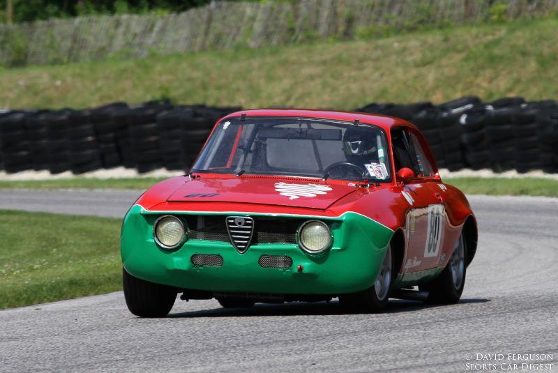 Peter Ragonetti, 66 Alfa Romeo Sprint GT