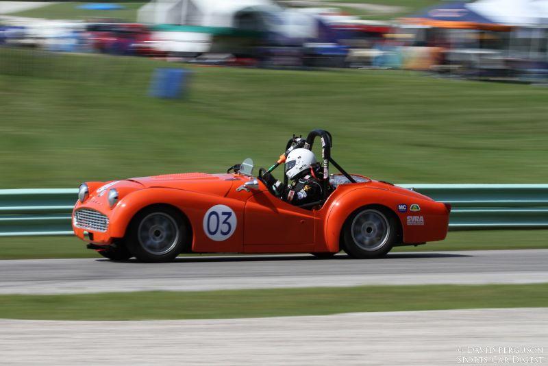 Andrew Willms, 60 Triumph TR3