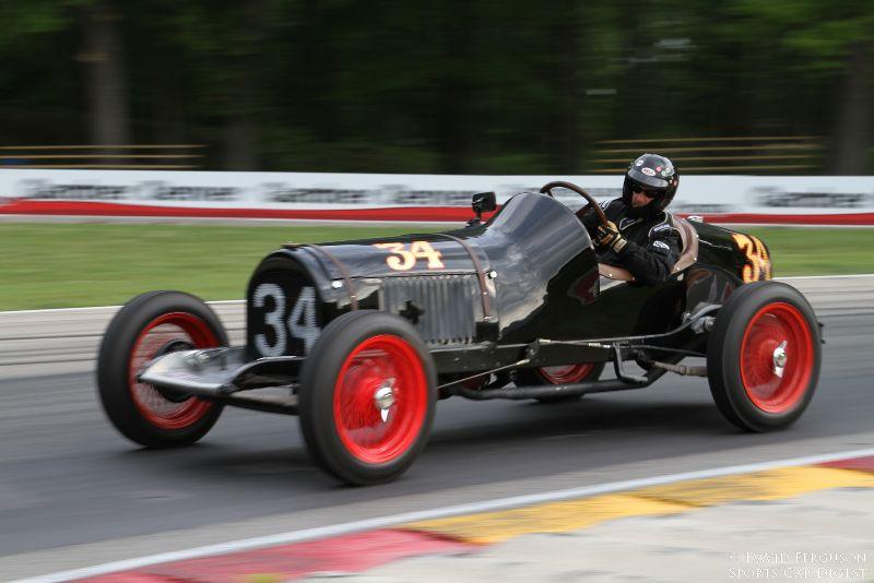 Tony Parella, 34 Chevy Indy