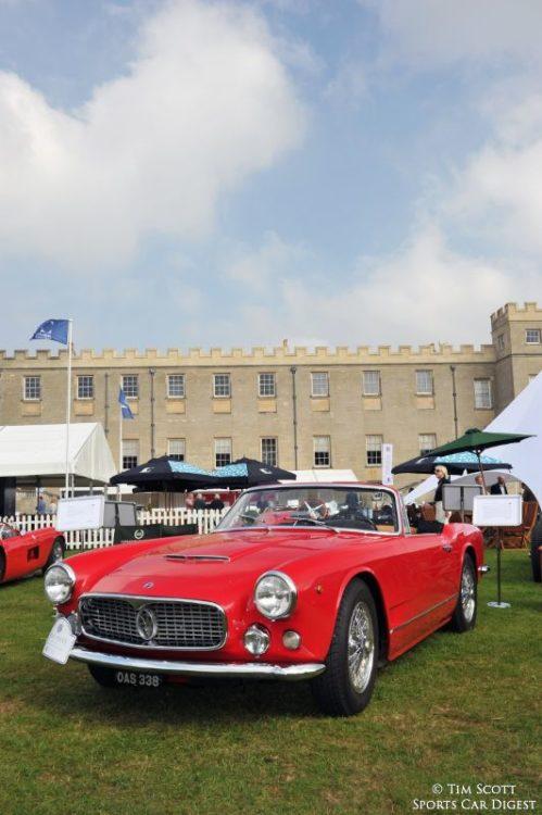 1960 Maserati 3500 GT Spider by Vignale