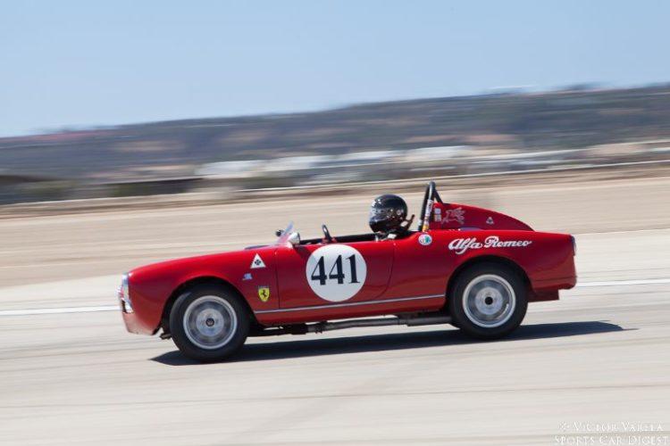 David Buchanan in his 1966 Alfa Romeo Sebring. © 2014 Victor Varela