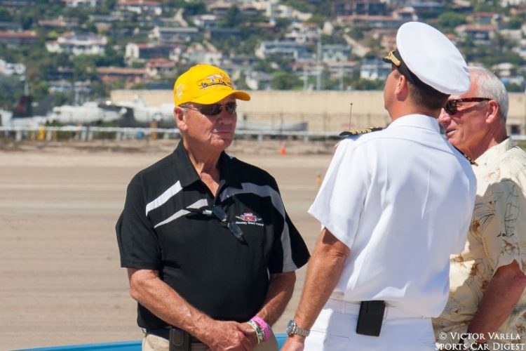 Racing legend George Follmer served as Honorary Grand Marshal for this year's Speed Festival. © 2014 Victor Varela
