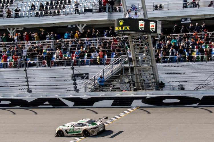 AMG-Team Riley Motorsports Finishes Third In Rolex 24 At Daytona